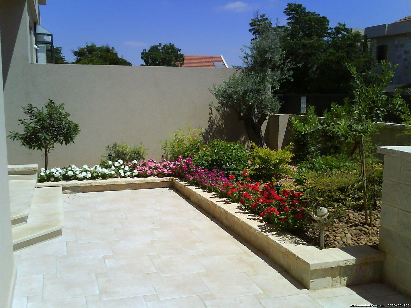 Ландшафтный дизайн. Израиль
